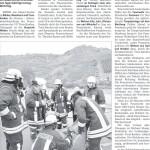Zeitungsbericht aus der Rhein-Zeitung vom 22.10.2009